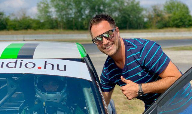 Rallycross futamot nyert Herczig